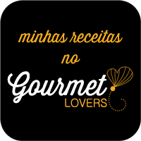 Minhas receitas no Gourmet Lovers